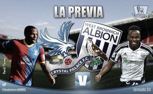 Crystal Palace - West Bromwich Albion: el espejo