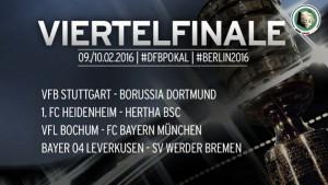 El sorteo de cuartos, benévolo con Bayern y Hertha