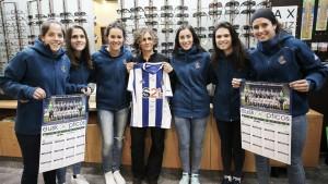 La Real Sociedad femenina presenta su póster de la temporada