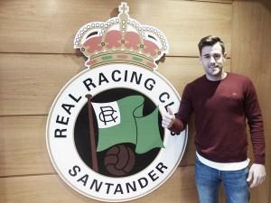 """Jon García, """"regalo"""" de Reyes adelantado para el Racing"""