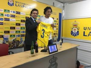 Mauricio Lemos, nuevo jugador de Las Palmas