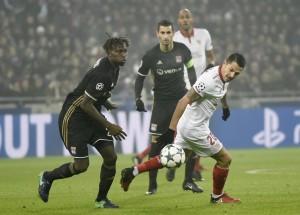 Champions League, 0-0 tra Siviglia e Lione, andalusi agli Ottavi