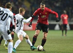 Europa League: lo United vince ma è secondo, 0-2 allo Zorya grazie a Mkhitaryan ed Ibrahimovic