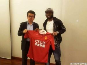 Gervinho ficha por el Hebei China Fortune
