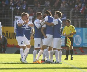 SV Darmstadt 98 1-0 RB Leipzig: Lilies rise to second