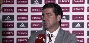 Rui Vitória parabeniza jogadores do Benfica por atuação na Champions League