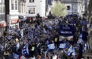 "La ""party"" del Leicester City"