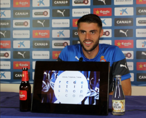 """David López: """"Estoy pensando plenamente en el Espanyol"""""""