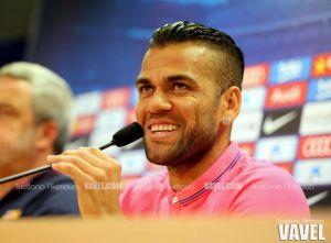 Dani Alves: ''Pedro debería de haberse quedado''