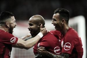 D'Alessandro marca no fim, e Internacional abre vantagem sobre Vitória pela Copa do Brasil