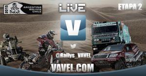 Resultado Dakar 2015: 2ª etapa