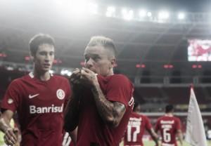 D'Alessandro iguala marca histórica de Fernandão no gol feito diante do Caxias
