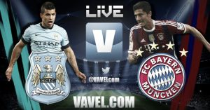 Resultado Manchester City vs Bayern Munich en la Champions League