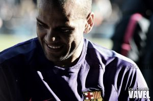 "Alves: ""Tomaré una decisión a final de temporada"""