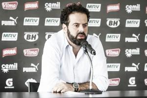 Em tom de despedida, presidente do Atlético-MG faz balanço do seu mandato