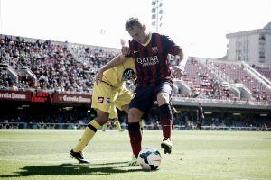 El Barça B no puede reaccionar al gol de Culio