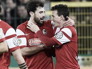 SC Freiburg 2-1 1. FC Köln: Home side advance thanks to flying start