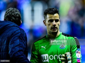 Karl Darlow fully focused on winning Championship title