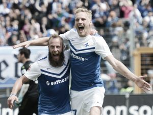 SV Darmstadt 98 3-2 1. FC Kaiserslautern: Three first half goals enough for the hosts