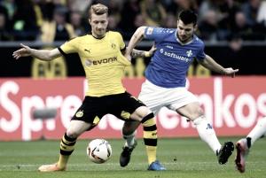 Resumen Darmstadt 2-1 Borussia Dortmund en Bundesliga 2017