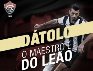 Confirmando expectativas, Vitória fecha com meio-campista Dátolo