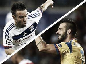 Resultado Olympique de Lyon vs Valencia en la UEFA Champions League 2015 (0-1)