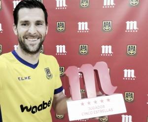 David Fernández, mejor jugador alfarero de abril