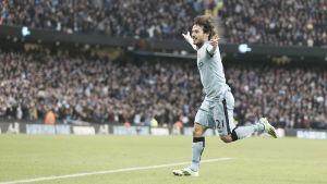 David Silva, mejor futbolista del Manchester City en diciembre