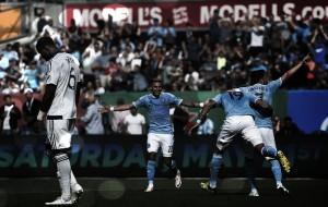 Mendoza the hero as New York City FC top Vancouver Whitecaps