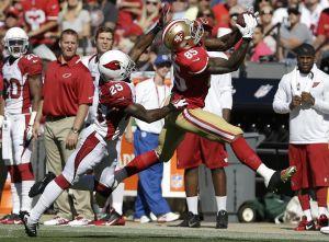 Los 49ers vencen a los Cardinals gracias a Davis y Gore