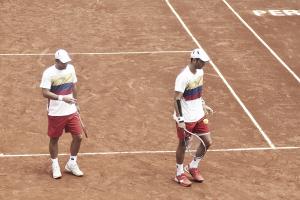 Copa Davis: Colombia - Japón, segundo día en imágenes