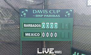 Copa Davis: México vs Barbados en vivo online