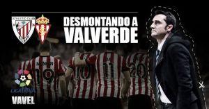Desmontando a Valverde: dominio frente al Sporting de Gijón