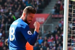 Premier - Rimonta Chelsea nel segno di Giroud: i Blues vincono 2-3 sul Southampton