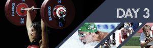 Jeux du Commonwealth : troisième journée