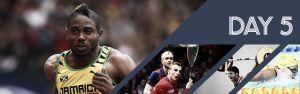 Jeux du Commonwealth : Cinquième journée