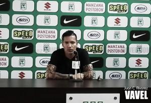 """Dayro Moreno: """"Somos el campeón de América y todos nos quieren ganar"""""""