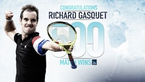 ATP Monte Carlo: Richard Gasquet records his 500th career victory over Mischa Zverev