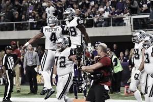 Dallas Cowboys eek out a close win against the Minnesota Vikings
