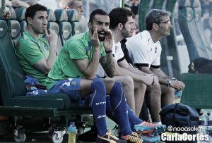 Diego Castro, baja ante el Villarreal