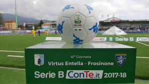 Il Frosinone soffre ma vince: Virtus Entella Chiavari battuta da un goal di Dionisi nel primo tempo
