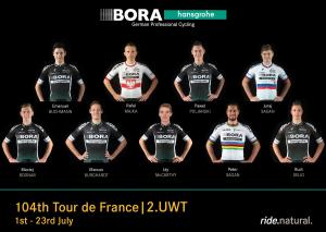 Tour de Francia 2017: Bora-Hansgrohe, los Sagan y otros siete