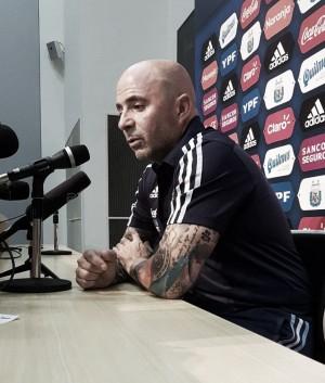 """Jorge Sampaoli: """"El equipo tuvo un alto nivel de convicción"""""""