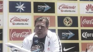 El América de Miguel Herrera listo para enfrentar a Santos