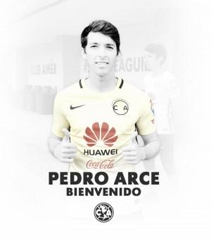"""Pedro Arce: """"Mi único deseo es que la afición del América pueda disfrutar con mi futbol"""""""