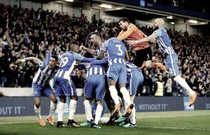 Brighton asegura la permanencia en la Premier League