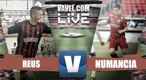 En vivo: Reus vs Numancia online en Segunda División 2016