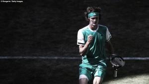 ATP Halle - Zverev raggiunge Federer in finale, K.O. Gasquet