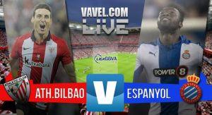 Resultado Athletic de Bilbao vs Espanyol en Liga 2015 (2-1)