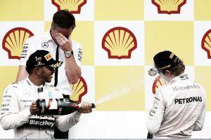 La fórmula. Mercedes borra el rojo de su camino a la gloria